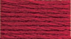 Bulk Buy: DMC Thread Six Strand Embroidery Cotton 8.7 Yards Dark Christmas Red 117-498 (12-Pack)