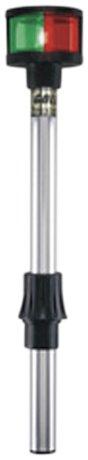 "Perko 1612DP3BLK Removable Bi-Color Pole Light - 17-3/8"""