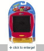 Lite Brite Pink Travel Game