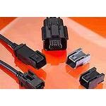 Pack of 3 Cable Assembly 0.5m LVDS Mini USB Type B to Mini USB Type B 5 to 5 POS M-M Automotive 111019-5001