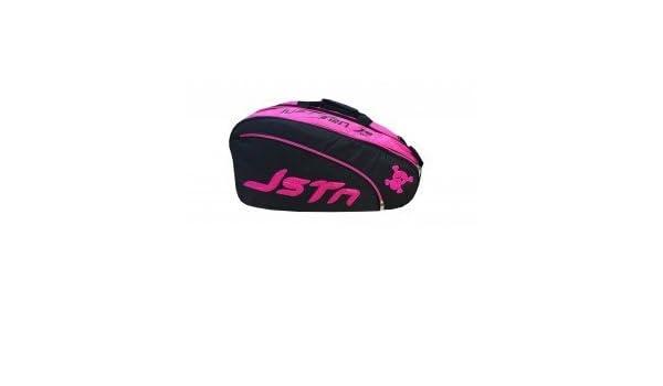 Just Ten - Padel Racket Bag, Color Negro,Rosa: Amazon.es: Deportes ...