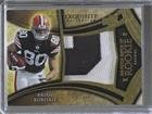 Brian Robiskie; Mike Wallace #27/50 (Football Card) 2009 Upper Deck Exquisite Collection - Big Patch Match Up Rookies #BRMW