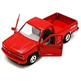 - 1992 Chevy 454SS Pick Up Truck, Red - Showcasts 73203 - 1/24 Scale Diecast Model Car by Motor Max