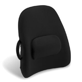 Charmant OBUSFORME Lowback Backrest Support   Black, Use On Office Chair, In Your  Car,