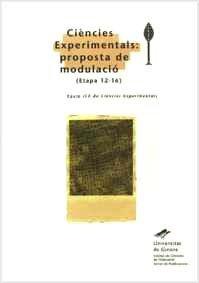 Descargar Libro Ciències Experimentals: Proposta De Modulació Desconocido