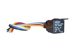 Amazon com: 30 Amp Starter Disable Relay w/ Harness Alarm System