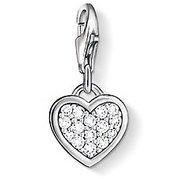 Thomas Sabo Heart Charm44; Sterling Silver (Jewellery Sabo Thomas)