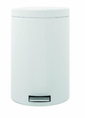 Treteimer 20 L Classic mit Kunststoffeinsatz / White