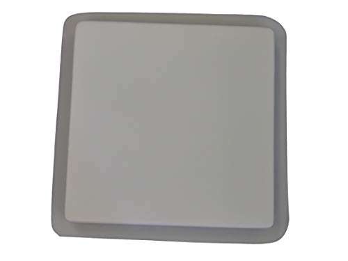 16in Plain Smooth Square Stepping Stone Concrete Plaster Mold 2037 ()