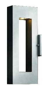 Atlantis Titanium Outdoor Wall Light - 4
