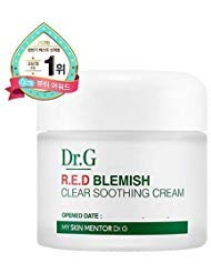 Dr.G NEW RED Blemish Clear Soothing Cream (70ml 2.36 oz) Gowoonsesang Cosmetic, Moisturizing Recovery Cream