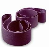 2 Inch X 72 Inch 400 Grit Cloth Sanding Edge Narrow Belts - 10 Pack