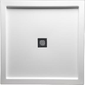 Americh S4242DT WH Shower Base With Square Drain, 42u0026quot; X 42u0026quot;,