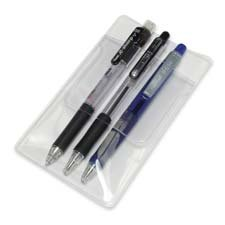 Pocket Protectors, for Pen Leaks, 6/BX, Clear, Sold as 1 Box, 48 Each per Box by Baumgartens (Image #1)