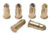 Hilti Powder Actuated Fastener Cartridge - .22 5.6/16 - Single - Brown - Extra Light - Pack of 100 - 50396 ()