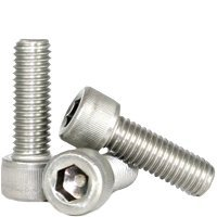 M10-1.50x25 MM,(FT) METRIC STAINLESS A2 SOCKET CAP SCREW, DIN 912 (QUANTITY: 100) Size: M10-1.50, Length: 25mm, Head Style: Socket Cap, Coarse Thread (UNC) Fully Threaded by Jet Fitting & Supply Corp