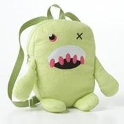 kids-green-fuzzy-monster-backpack