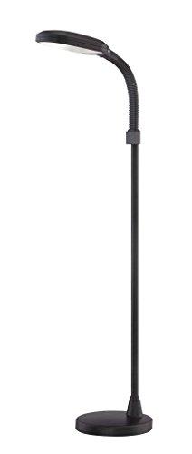 V-LIGHT 1 Energy Saving, Heavy-Duty, Reading Floor Lamp, Black (VSLF028B) by V- Light