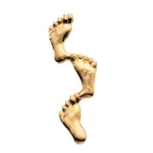 14k-Yellow-Gold-Footprints-In-The-Sand-Lapel-Pin-8x23mm