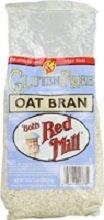 Bob's Red Mill Oat Bran, Gluten-Free 18 oz. (Pack of 4)
