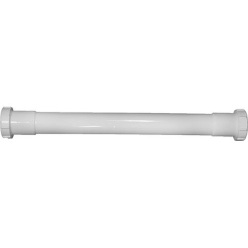 """Keeney 42-16WRUK Double Ended Extension Tube Slip Joint with TPR Washer, 1 1/4"""" x 16"""""""