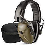 awesafe ElectronicShootingEarmuff [ Comes with Hard Travel Storage Carrying Case Bag], GF01+ NoiseReductionSoundAmplificationElectronicSafetyEarMuffs and Storage Case
