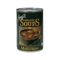 - Amy's Organic Soups Low Fat Minestrone 14.1 oz (6 pack) by Amy's