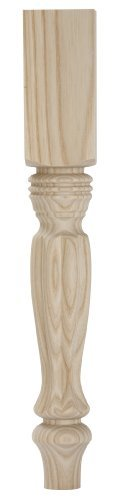Waddell 2815 Ash Country French Table Leg, 15-1/4 by for sale  Delivered anywhere in USA