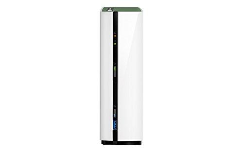 QNAP TS-128A NAS Mini Tower Ethernet Blanco Servidor de Almacenamiento - Unidad Raid (Unidad de Disco Duro, Serial ATA III, 3.5', FAT32,HFS+,NTFS,ext3,ext4, Realtek, RTD1295) 3.5 198759