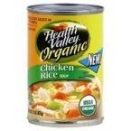 Health Valley Soup Chicken Rice No Salt, 15 oz