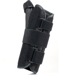 Florida Orthopedics Prolite 8'' Airflow Wrist Brace with Abducted Thumb, Black, Left, Small/Medium by Florida Orthopedics by Florida Orthopedics