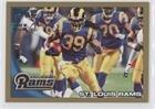 St. Louis Rams Team #1451/2,010 (Football Card) 2010 Topps - [Base] - Gold #353