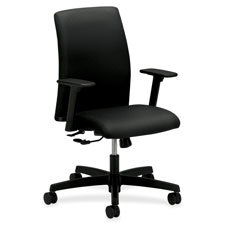 HON IT105CU42 Ignition Series Low-Back Task Chair Poppy Fabric Upholstery