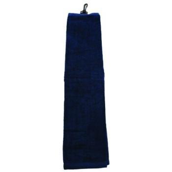 ProActive 16 x 25 Hemmed Towel (Navy Blue)