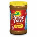 Peter Pan Creamy Peanut Butter, 16.3 Oz (Pack of 2)