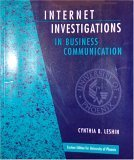 Internet Investigations In Business Comm 9780536608215