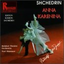 Shchedrin: Anna Karenina (Complete Ballet) (2 CD Set) - Yuri Simonov conducts the Bolshoi Theater Orchestra