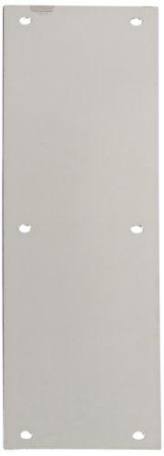 Rockwood 70B.32 Stainless Steel Standard Push Plate, Four Beveled Edges, 15
