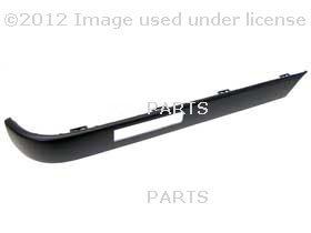 BMW E30 318 325 Right Rear Bumper Impact Strip Genuine Bmw 318 E30