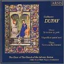 UPC 600313011825, Choral Music of Guillaume Dufay