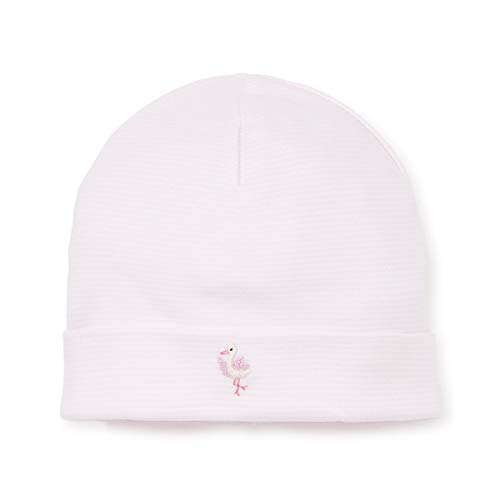 - Kissy Kissy Premier Baby Girls Animal Crackers - Striped Hat w/Embroidery - Pink-Small