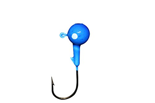 Vibrant Color Fishing Lures (1/4oz - 25 Pack, Bright Blue)
