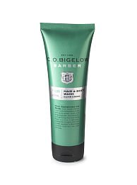 Shower Peppermint - C.O. Bigelow Barber Hair and Body Wash Elixir Green #1606