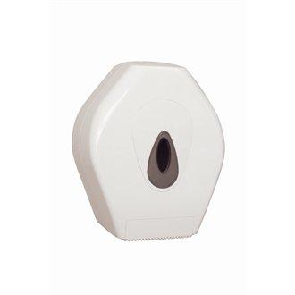 Mini Jumbo Toilet Tissue Dispenser + 12 Rolls of 2ply Toilet Tissue Trophy Store