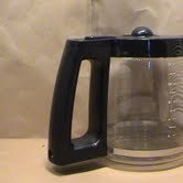 - Hamilton Beach Carafe with Black Handle and Lid (1, A)