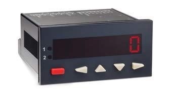 8981-1 | TRUMETER COUNTER, RATEMETER OR TIMER, 6 DIGIT LED, 2 PRESET, 10KHZ HSC, 100-240VAC SUPPLY