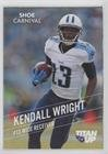 Kendall Wright (Football Card) 2015 Shoe Carnival Tennessee Titans - [Base] #KEWR