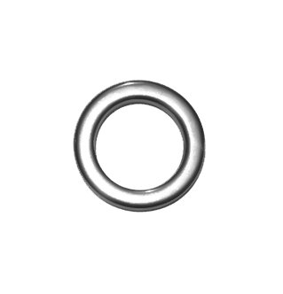"UPC 741587450559, Stainless Steel Forged ""Unbreakable"" Solid Rings (Size 5mm 25 Pack)"
