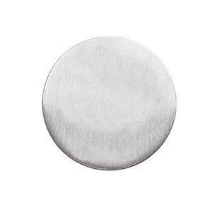 So Chic Bijoux © Pin's Mixte & Enfant Pastille 20 mm Argent 925 - Personnalisable : Gravure offerte