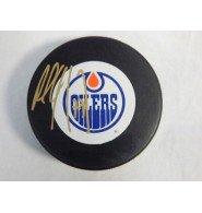 Signed Coffey, Paul (Edmonton Oilers) Edmonton Oilers Hockey Puck autographed